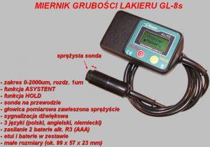 Miernik lakieru GL-8s