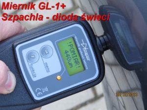 Miernik lakieru GL-1 plus pomiar 1-1