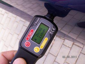 Miernik lakieru samochodowego